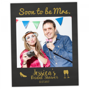 Bridal Shower Selfie Photo Board Cutout
