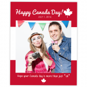 Canada Day Selfie Frame Prop
