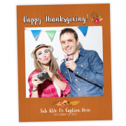 Thanksgiving Selfie Cutout Frame Prop