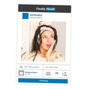 LinkedIn Selfie Frame Prop