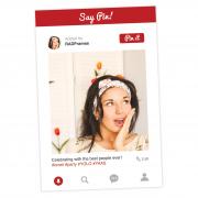 Pinterest Selfie Frame Prop