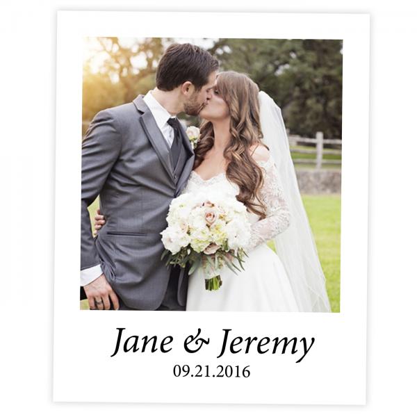 Wedding Polaroid Style